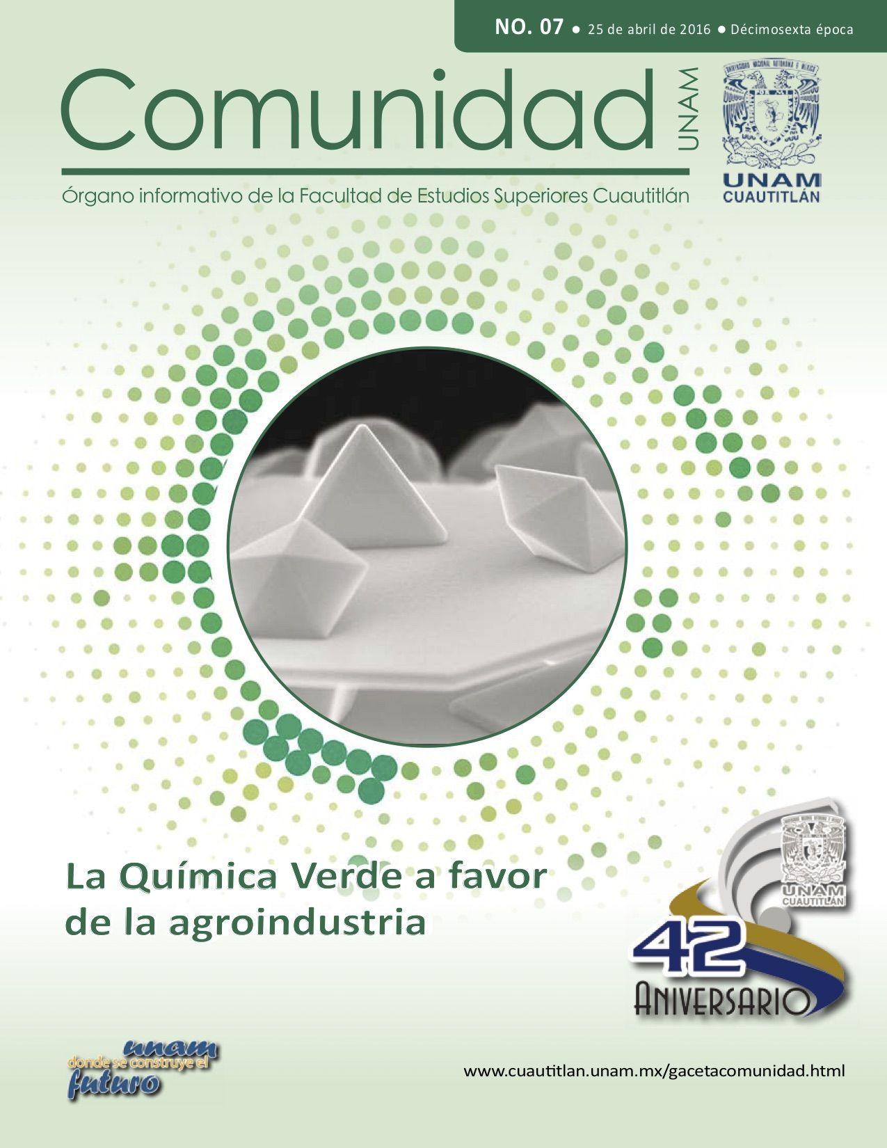 NO. 7-25 de abril de 2016 - Gaceta Digital Comunidad